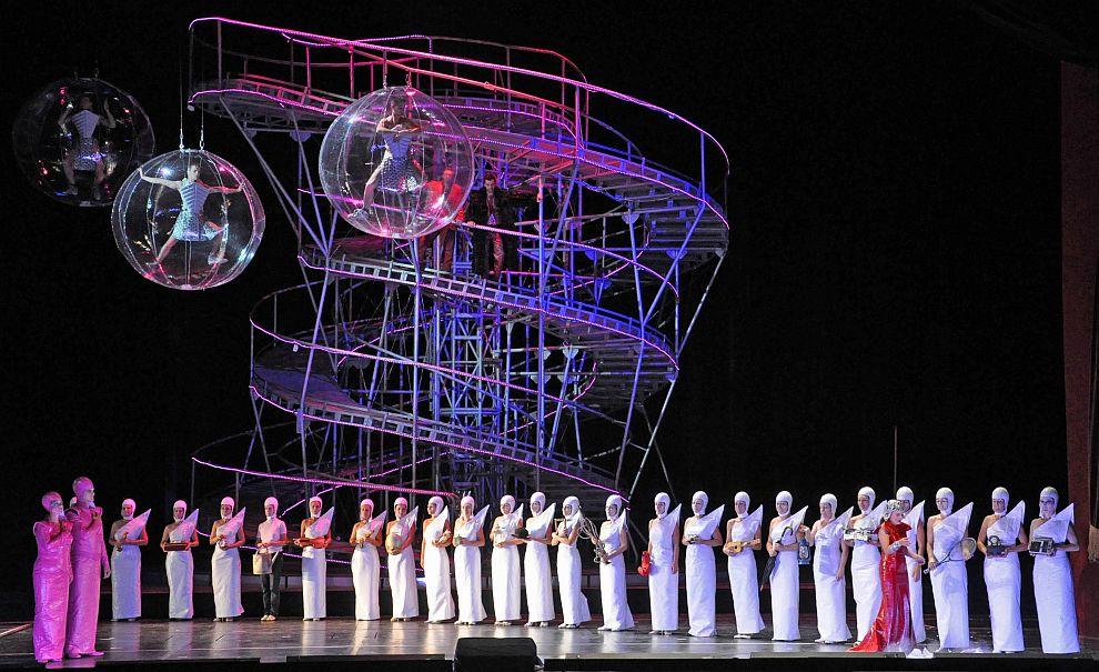 Budapest: A futuristic Metropolis opera