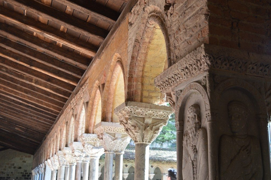 Moissac Abbey's wondrous cloisters