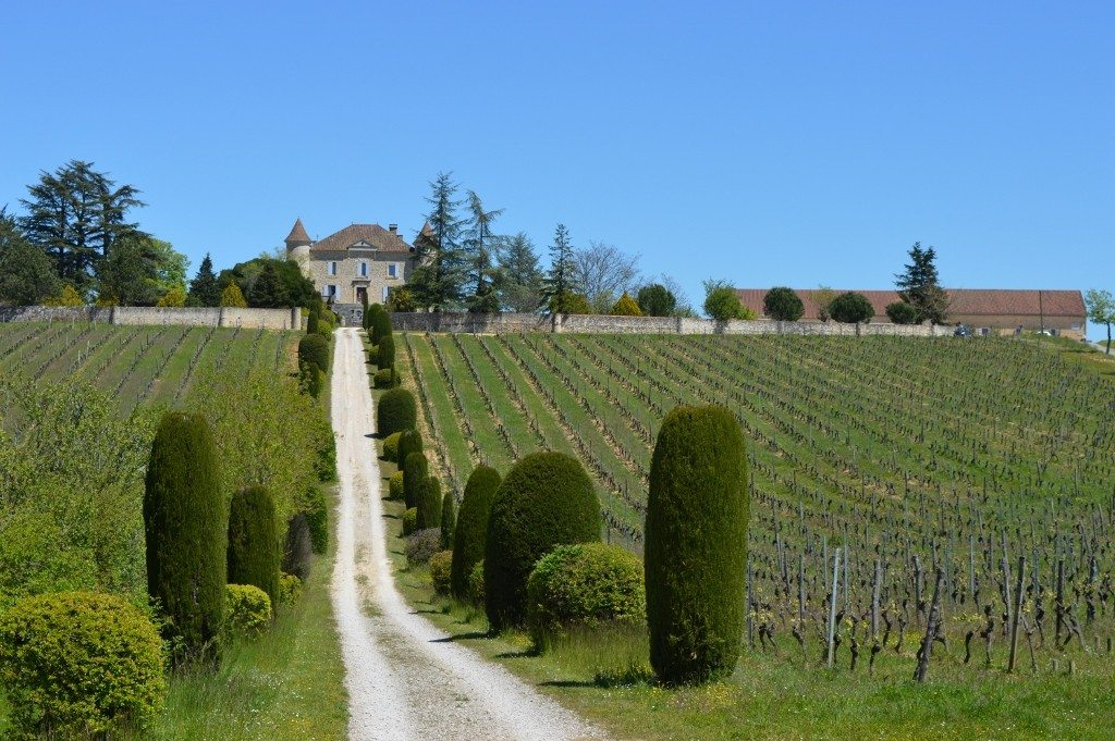 Becoming a sommelier at Château de Chambert, Cahors