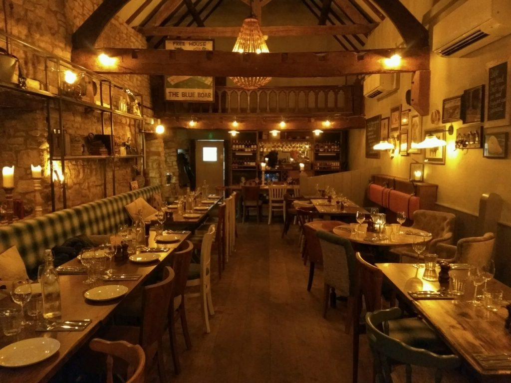Winter hygge at the Blue Boar, Chipping Norton