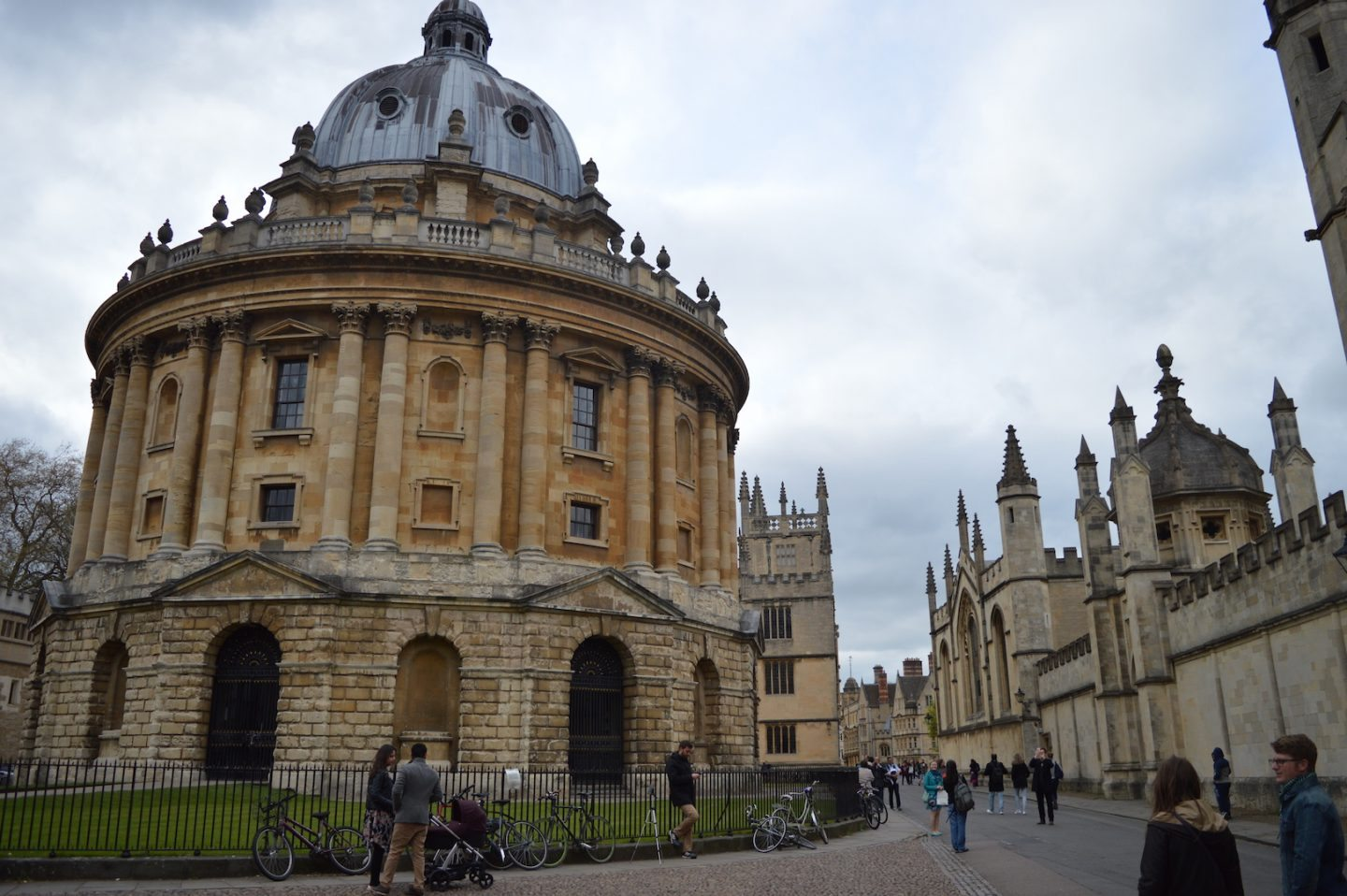 A walking tour of Oxford's Colleges