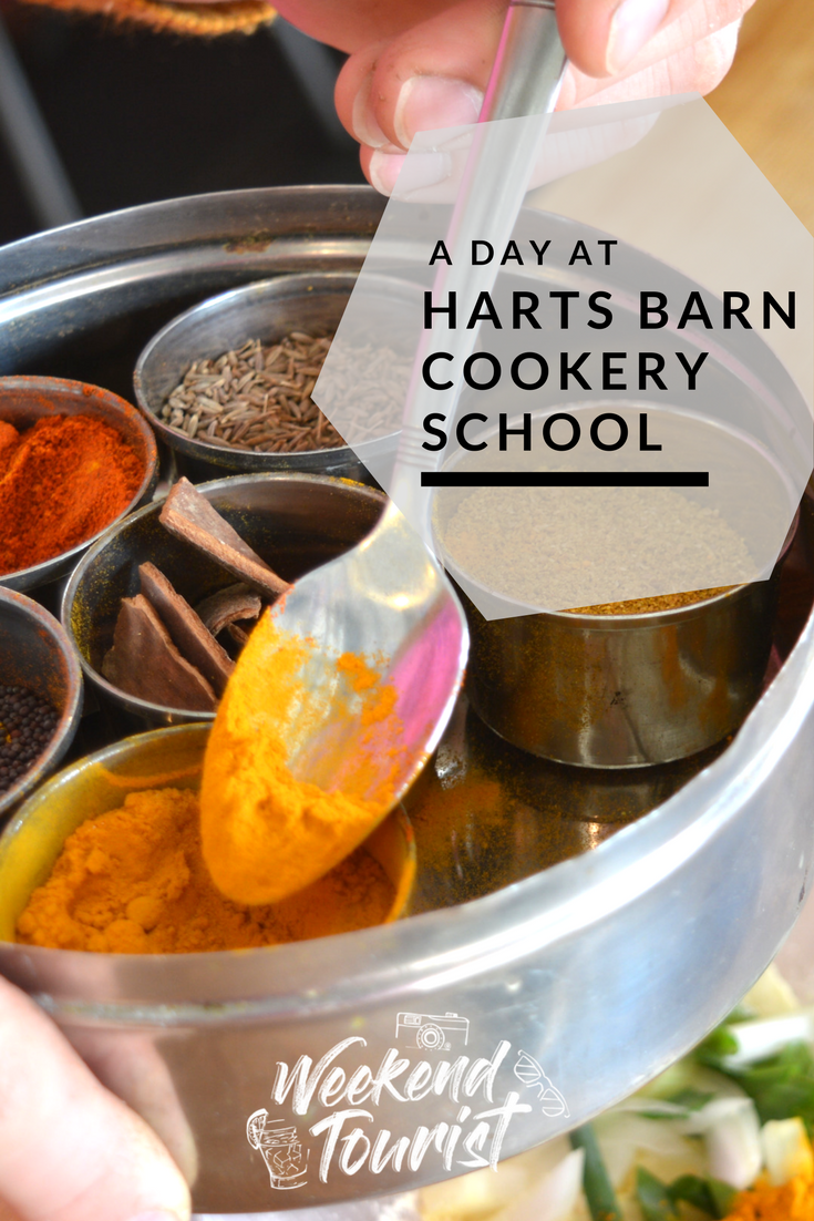 A Day at Harts Barn Cookery School