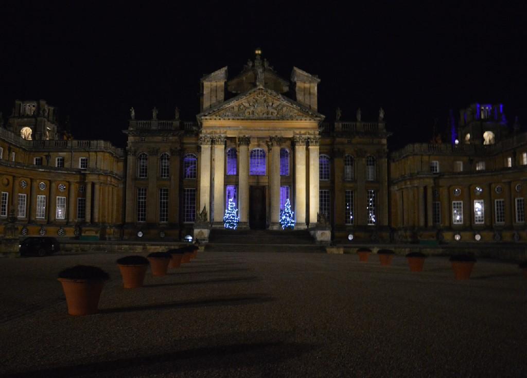 Blenheim Palace Xmas Lights