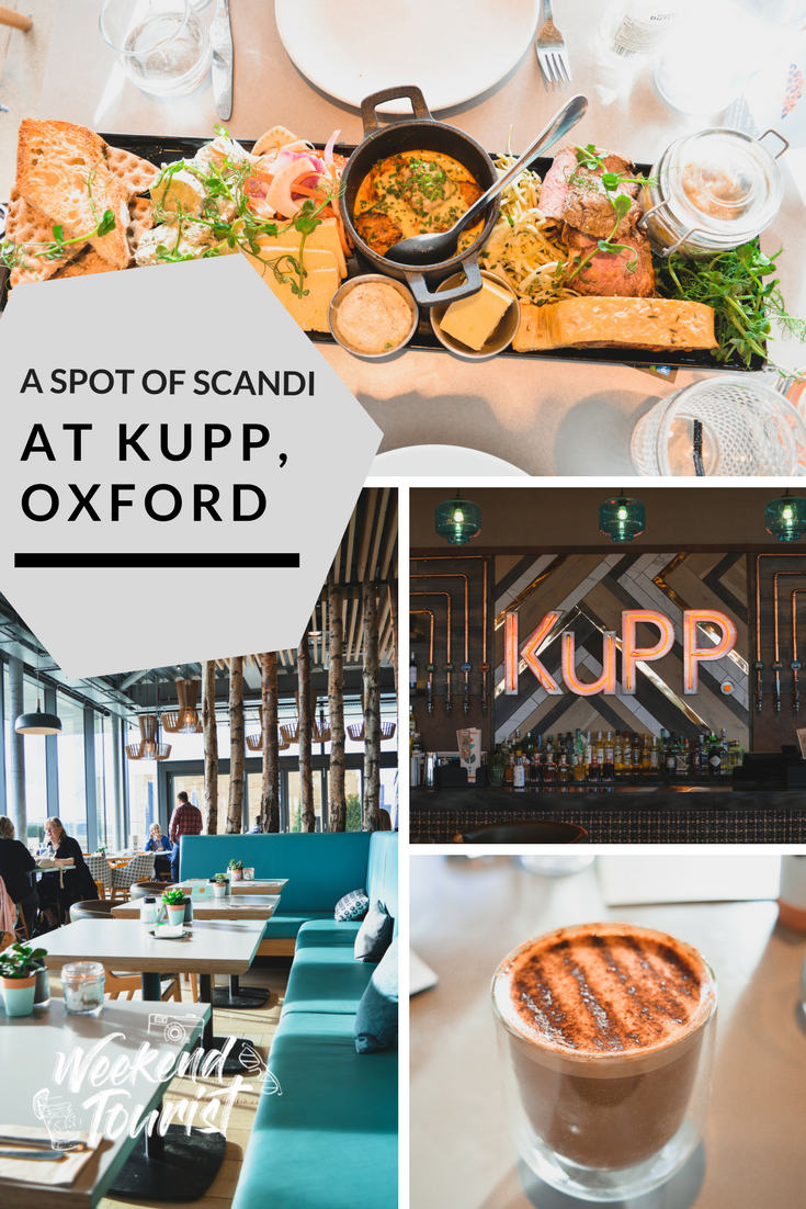 There's a great place to enjoy all things Scandi in Oxford and that's Kupp!