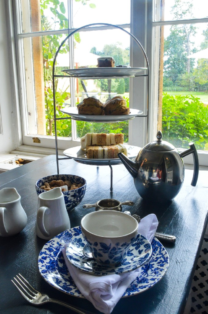 We tried the afternoon tea at the Manor at Weston on the Green, near Bicester Village.