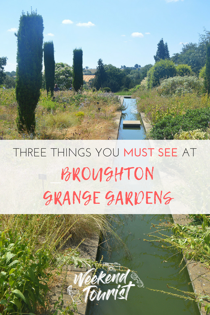 Three things you absolutely must see at Broughton Grange gardens!