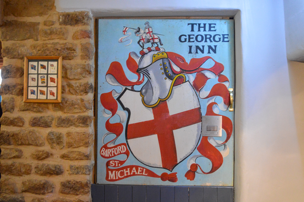 The George Inn in Barford St Michael