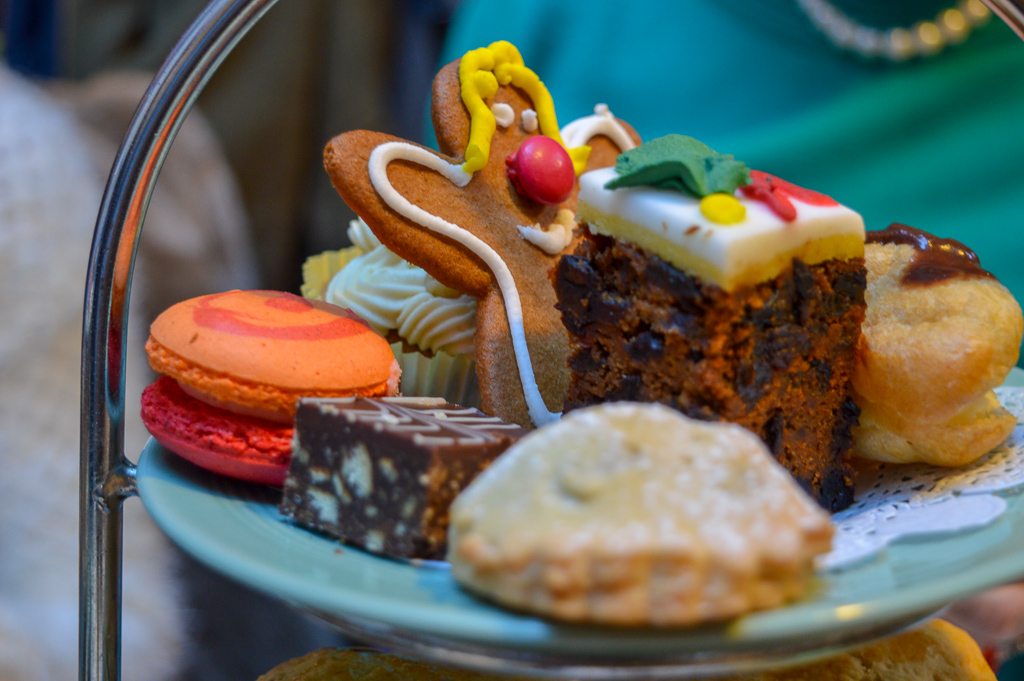 Festive afternoon tea at Fourteas, Stratford upon Avon