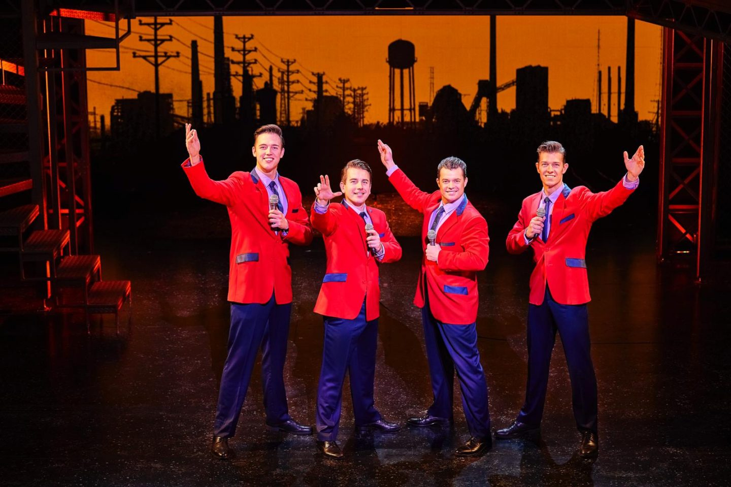 Jersey Boys at The New Theatre, Oxford