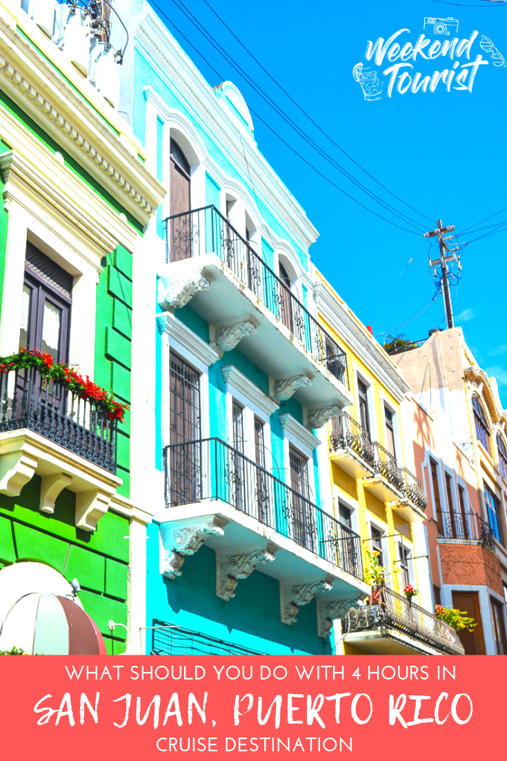 What to do with four hours in San Juan, Puerto Rico