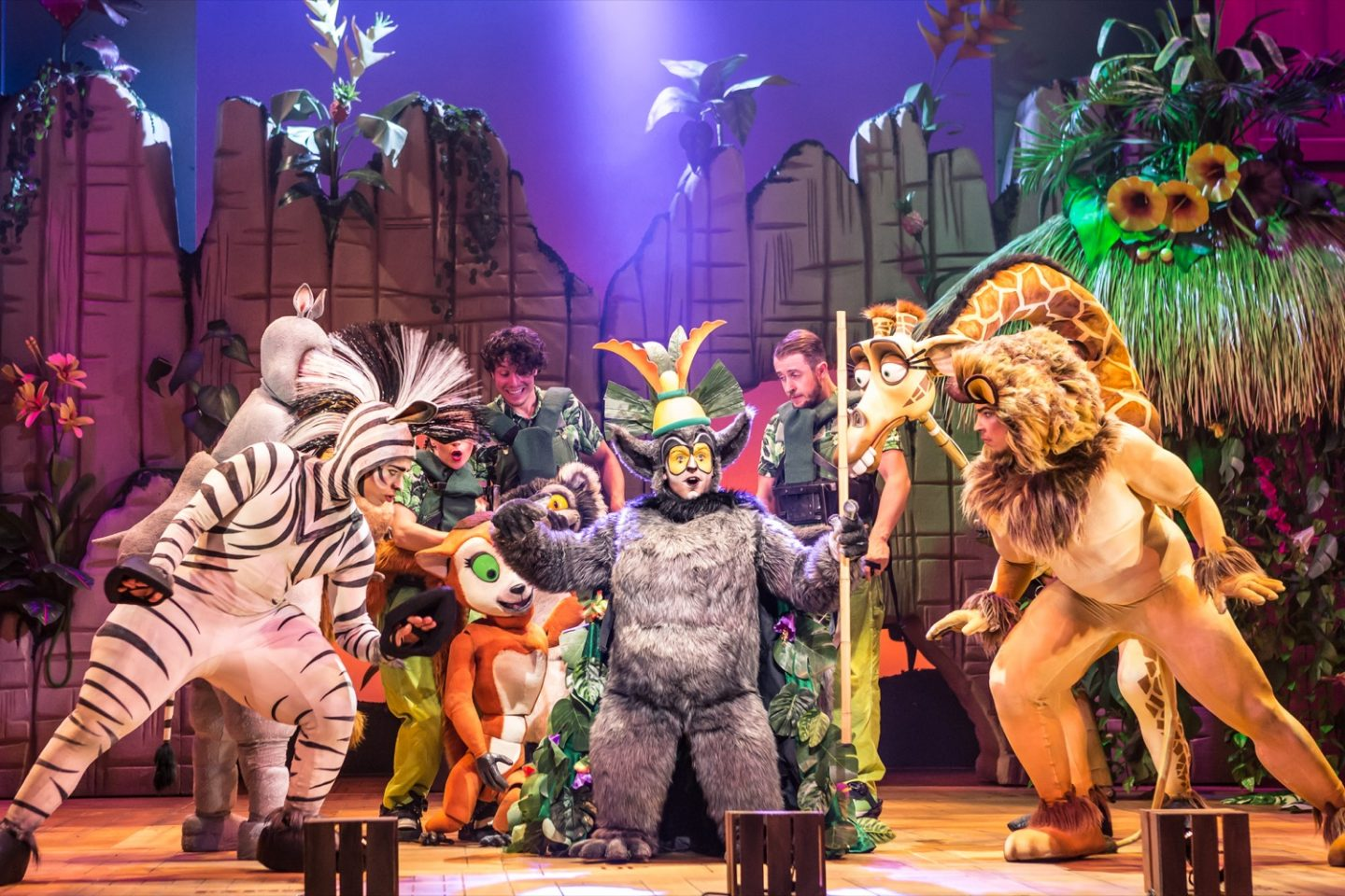 Get ready to 'Move it, Move it!' with Madagascar the Musical