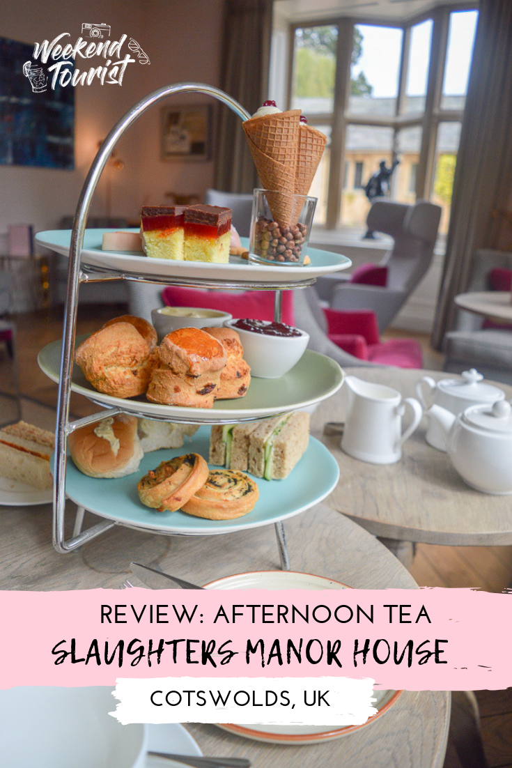 Afternoon tea at Slaughters Manor House