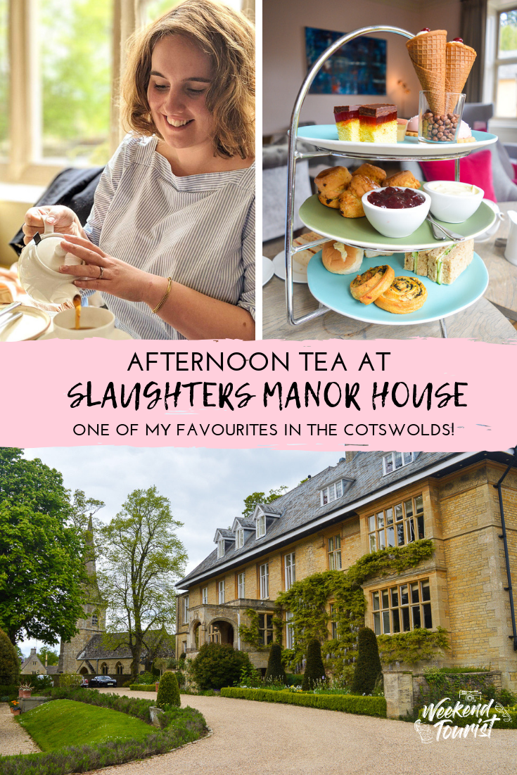 Afternoon tea at Slaughters Manor House - our review.