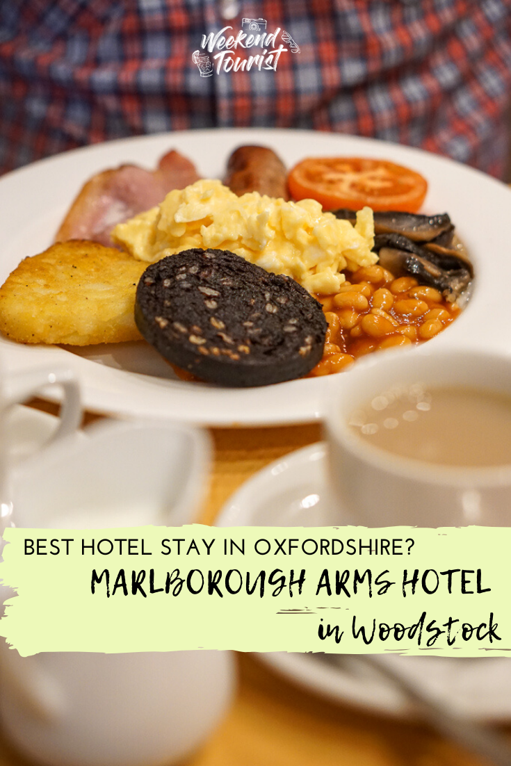 Marlborough Arms Hotel in Woodstock