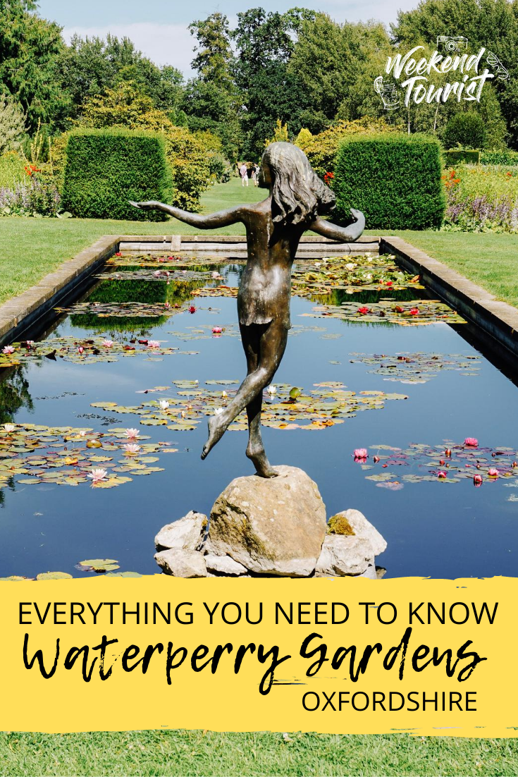 This is a complete guide to visiting Waterperry Gardens, Oxfordshire. From the history to the present day.