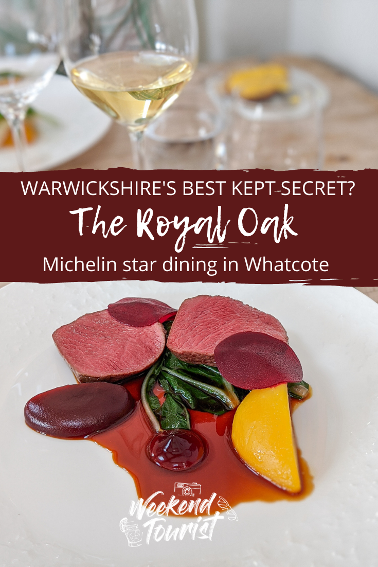 Try Warwickshire's best-kept secret! Michelin starred, The Royal Oak, Whatcote. The pub is run by Richard and Solanche Cravens, a husband and wife team, who balance the local pub vibe with really exceptional, seasonally driven food.