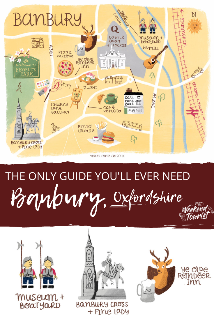 This is my complete guide to Banbury, Oxfordshire. Where to shop, eat and sleep and why you should visit! Absolutely everything you need to know with all the insight from a life-long resident.